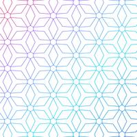 colorful geometric lines pattern background