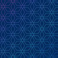 Blauer Hintergrund mit abstraktem geometrischem Muster