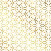 Fundo de teste padrão de flor dourada. Padrão floral