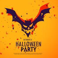 illustration de fond fête halloween heureux