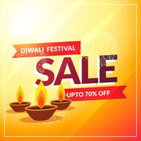 diwali discount sale banner poster template