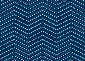 blue chevrion sashiko pattern background in zigzag style