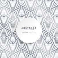 abstract circle lines white pattern background