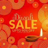 geweldige diwali verkoop festival voucher achtergrond