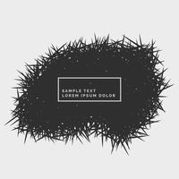abstract grunge spikes background