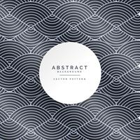 stylish abstract line pattern background