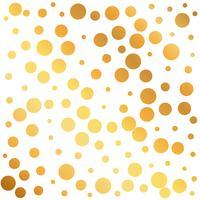 sfondo modello cerchi d'oro, può essere usato come un pap carta da imballaggio