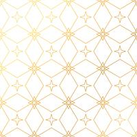 Abstract geometric golden pattern background. Seamless golden ba