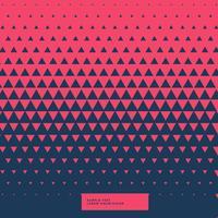 roter und blauer abstrakter Dreieckhintergrund