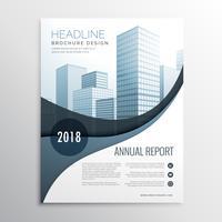 design de brochura de panfleto de negócios moderno para a marca no tamanho A4