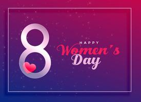 8 de marzo, fondo de celebración del día internacional de la mujer.