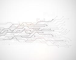 Vektor Technologie Mesh Diagrammhintergrund