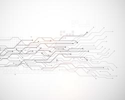 Fondo de diagrama de malla de tecnología de vector