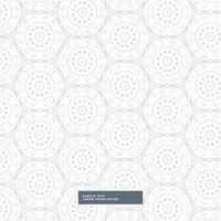 abstraktes Blumenmuster im Mandala-Arthintergrund