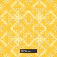 bright yellow abstract pattern background