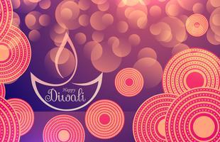 bannière joyeuse fête du diwali