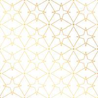Fondo de líneas geométricas de oro