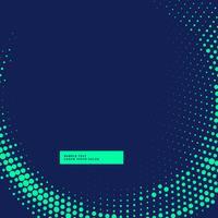 fondo azul con diseño de semitono brillante