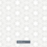 Patrón de forma geométrica gris sobre fondo blanco