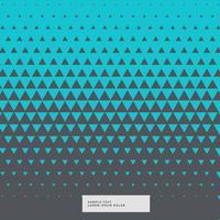 blå och grå abstrakt triangel bakgrund