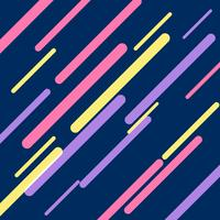 dark blue background with colorful diagonal stripes. Lines backg
