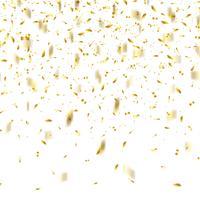 Fundo de confetes de ouro