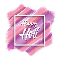 Watercolour Happy Holi background