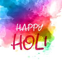 Colourful holi background with watercolour texture