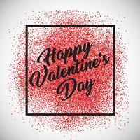 Fond de confettis de la Saint-Valentin