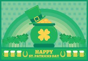 Vektor St. Patricks Tages