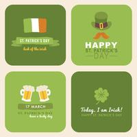 Lettering For St. Patrick's Day vector