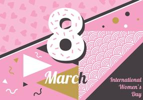 International Women's Day Vector Design
