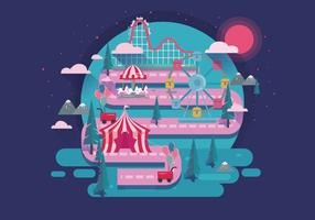 Roller Coaster Vol 2 Vector