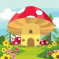 Magisk trädgårdsvektor