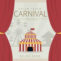 Carnival Poster Illustration vector
