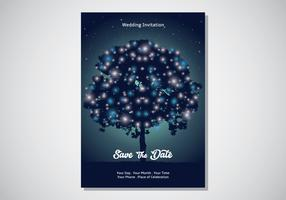 Magische Garten-Karten-Einladung