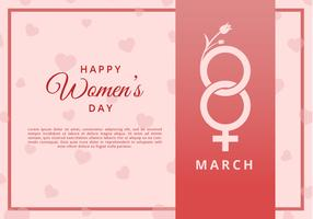 Carte de voeux Happy Womens Day