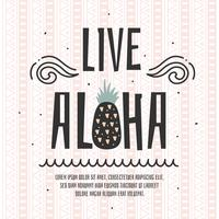 vector aloha en vivo