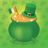 Illustration St. Patricks Tages