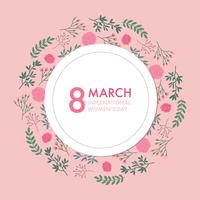 Pink Invitation For International Women's Day