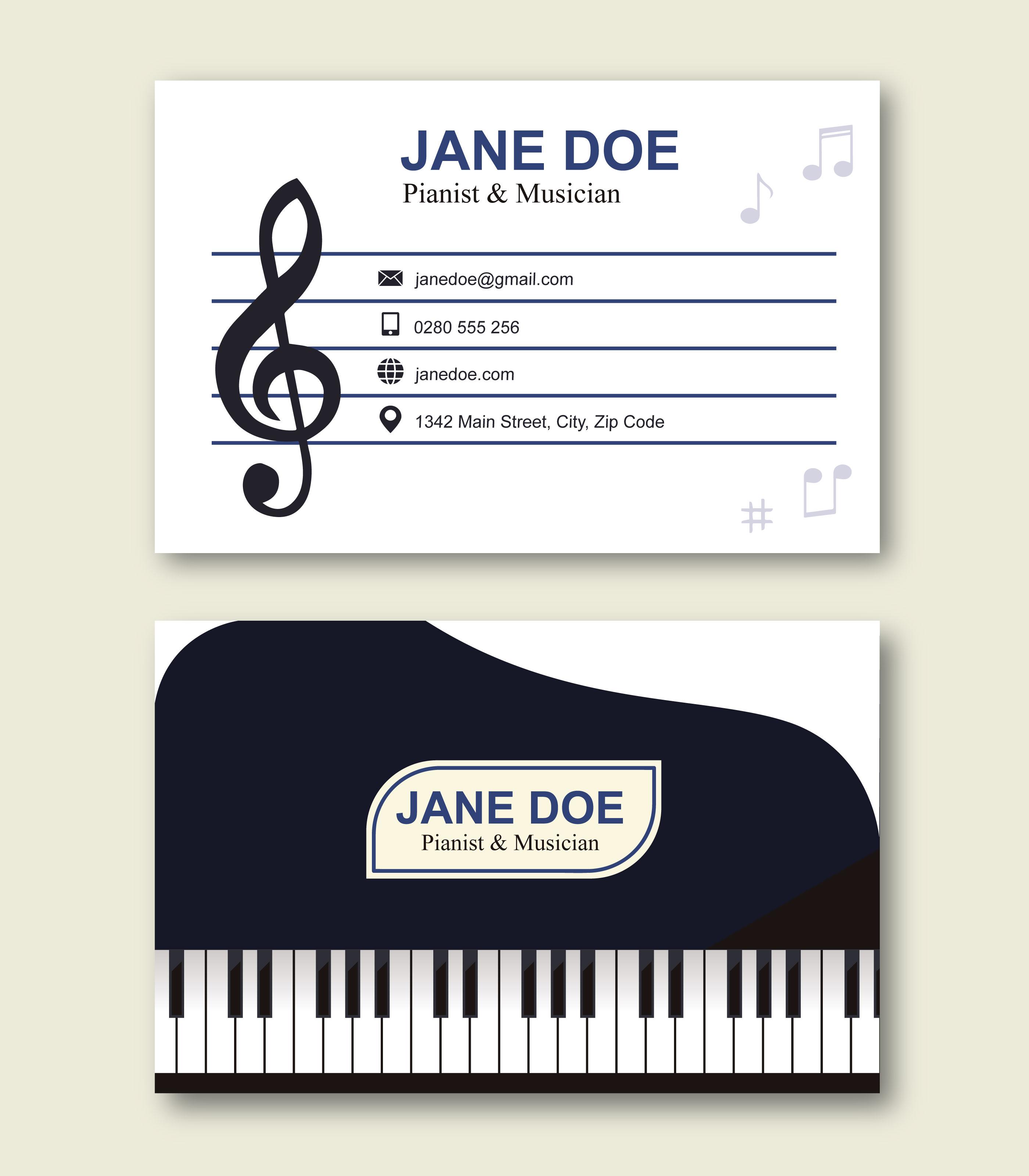 Ausgezeichnet Musik Bio Vorlage Bilder - Beispiel Business ...