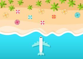 Beach View Vector