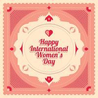 dia internacional das mulheres vetor