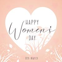 Decorative Women's Day background