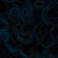 Abstract background with topographic lines vector