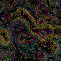 Abstract topographic style background