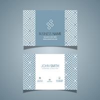 Visitkort med mönster design