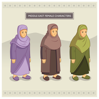 Middle East Female Characters