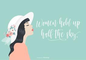 International Women's Day Vector Illustration