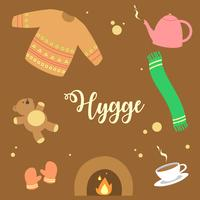 Hygge Elements Vector
